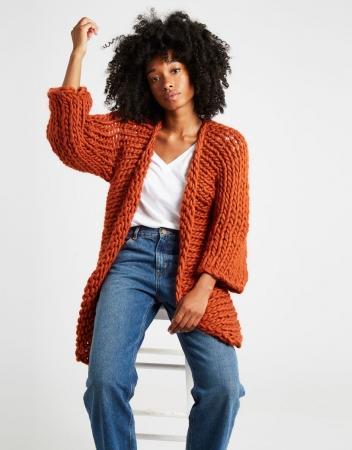 Kit tricotat cardigan Fearless5