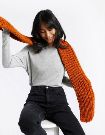 Kit tricotat fular Whistler5