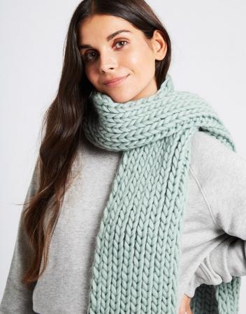 Kit tricotat fular Whistler4