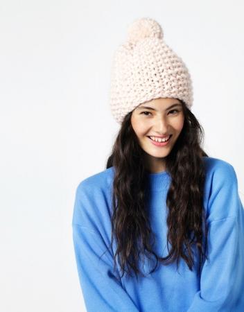 Kit tricotat caciula Happy Daze6