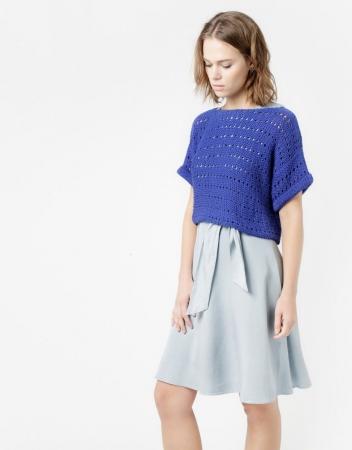 Kit tricotat pulover Diana2