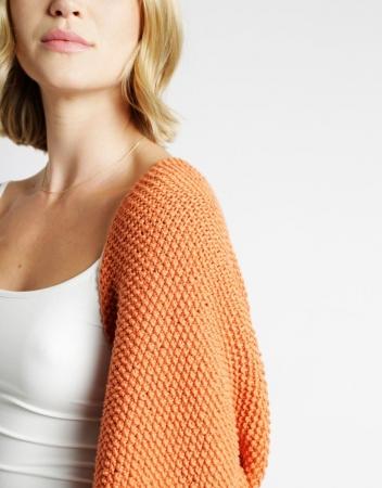 Kit tricotat sal cu maneci Riri4