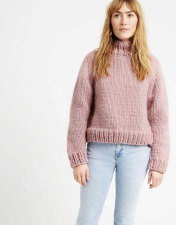 Kit tricotat pulover Eden Jumper5