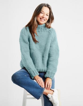 Kit tricotat pulover Eden Jumper10