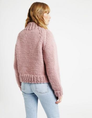 Kit tricotat pulover Eden Jumper2