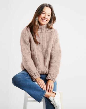 Kit tricotat pulover Eden Jumper8