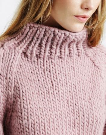 Kit tricotat pulover Eden Jumper4