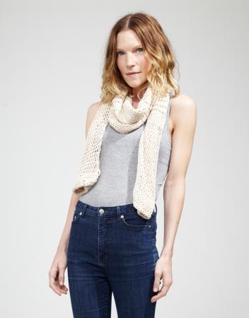 Kit tricotat esarfa Lacey Sissi0