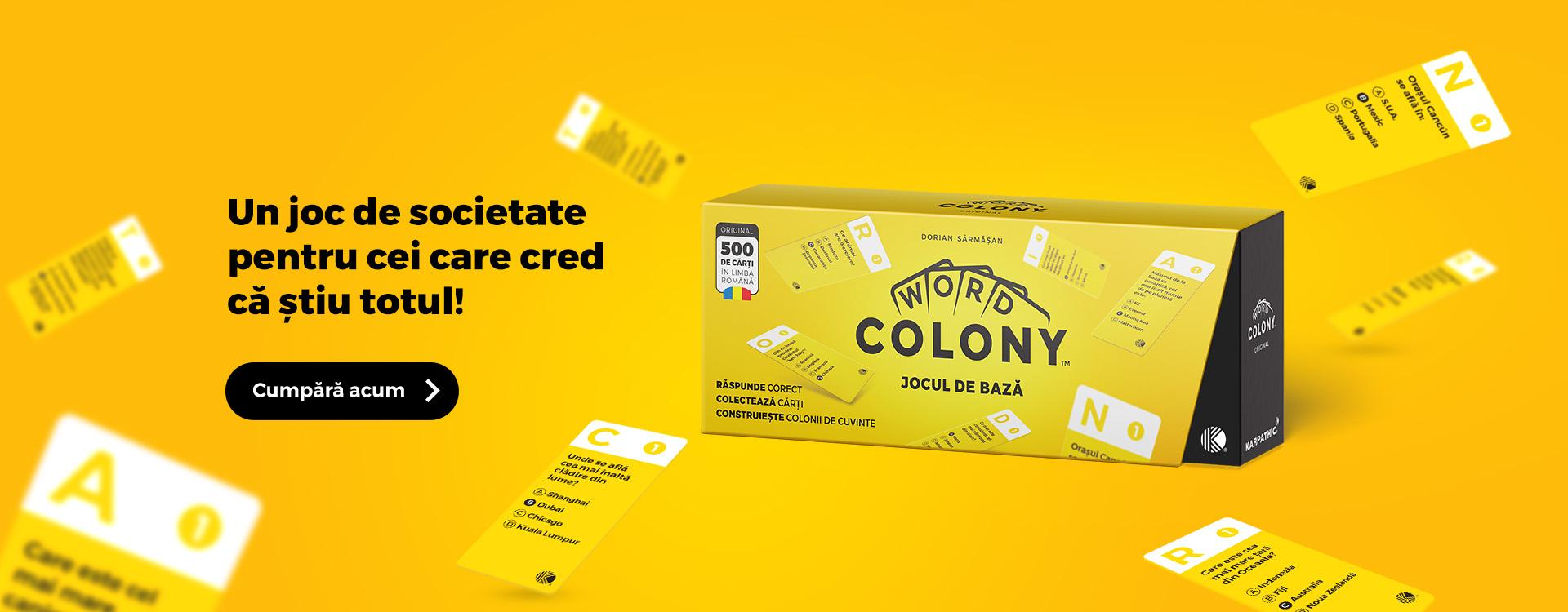 Word Colony Jocul de Baza