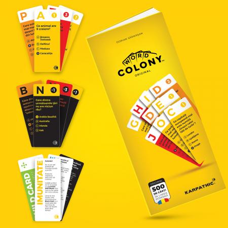 Word Colony Jocul de Bază, Ediția Original în limba română, 2-4 jucători [4]