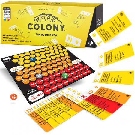 Word Colony Jocul de Bază, Ediția Original în limba română, 2-4 jucători [1]
