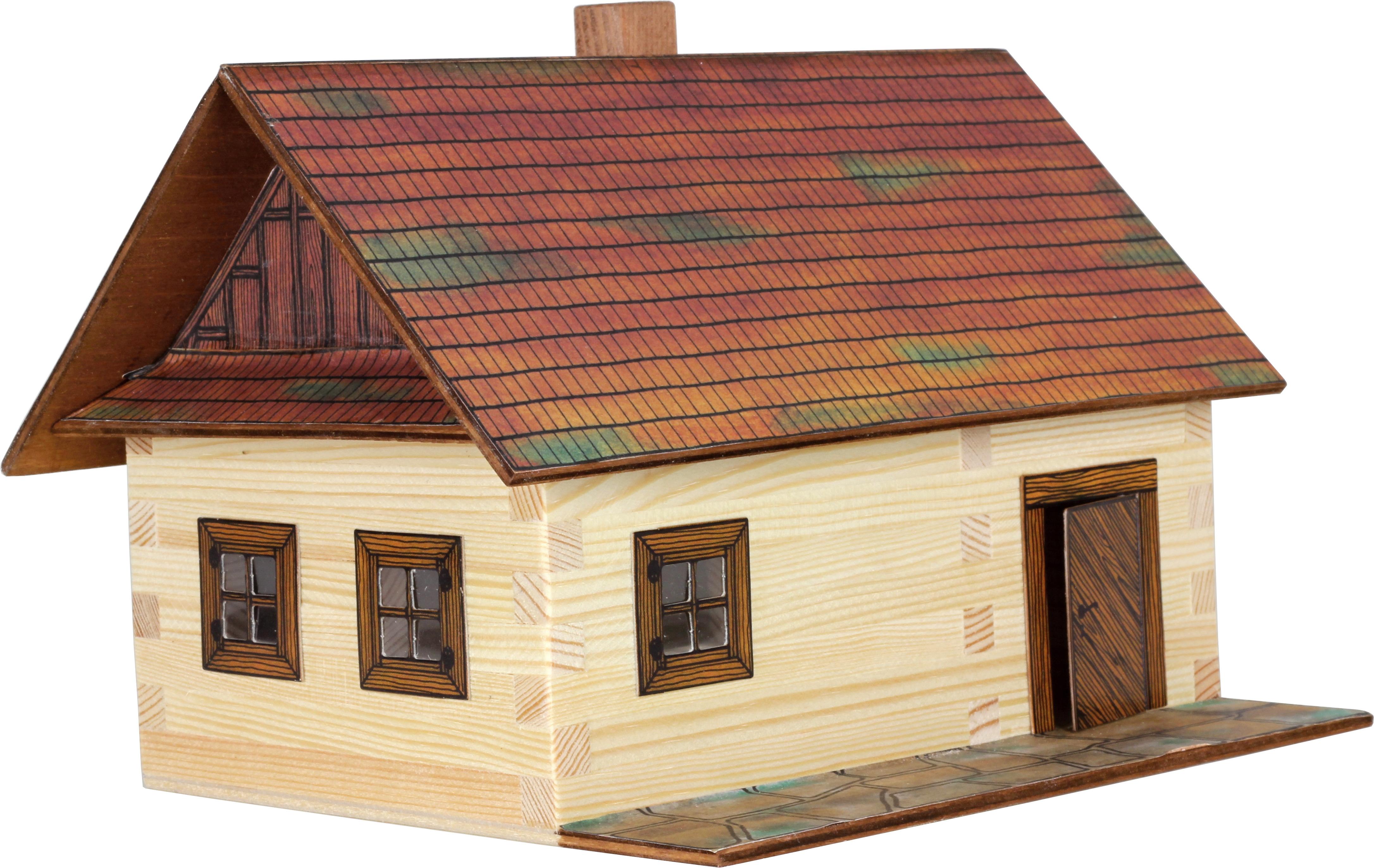 Cabana de lemn - joc educativ de construit Walachia 0