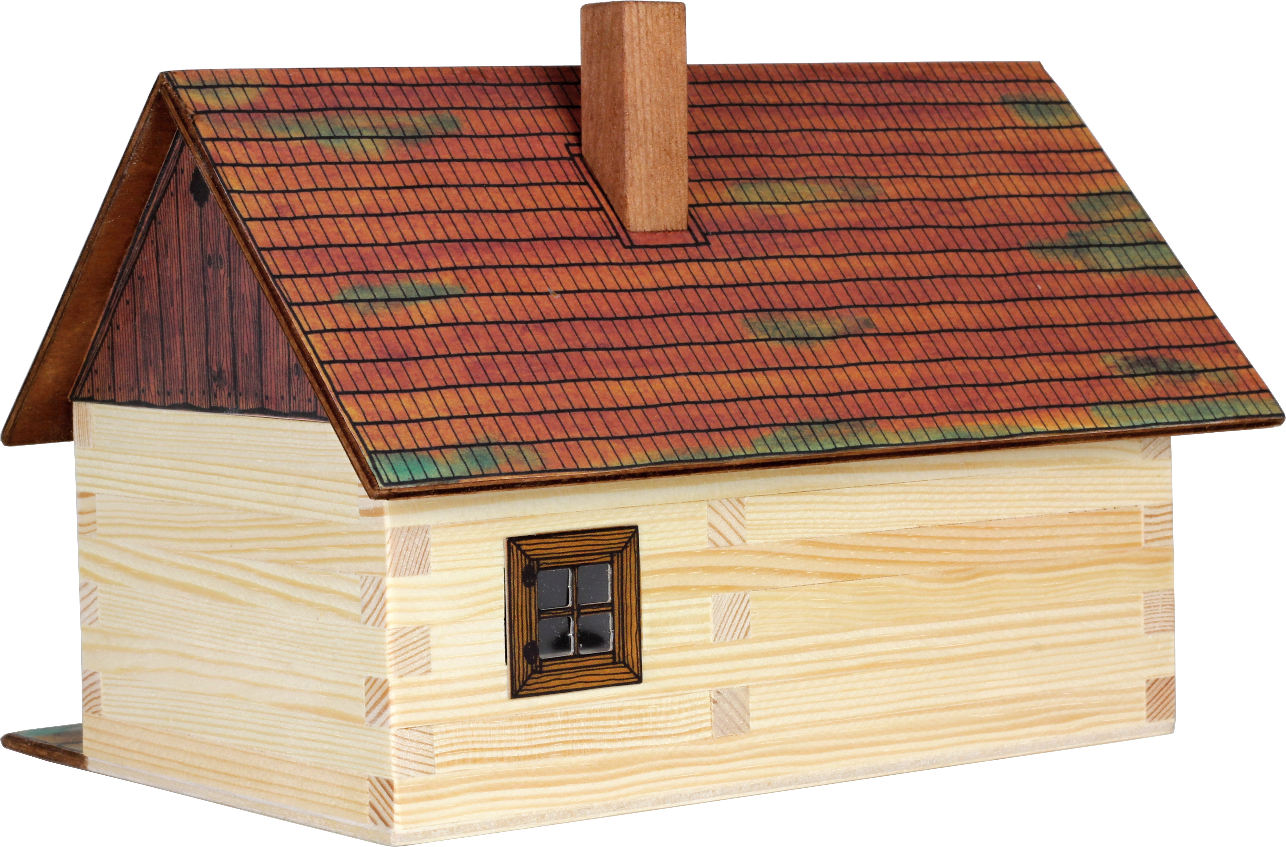 Cabana de lemn - joc educativ de construit Walachia 1