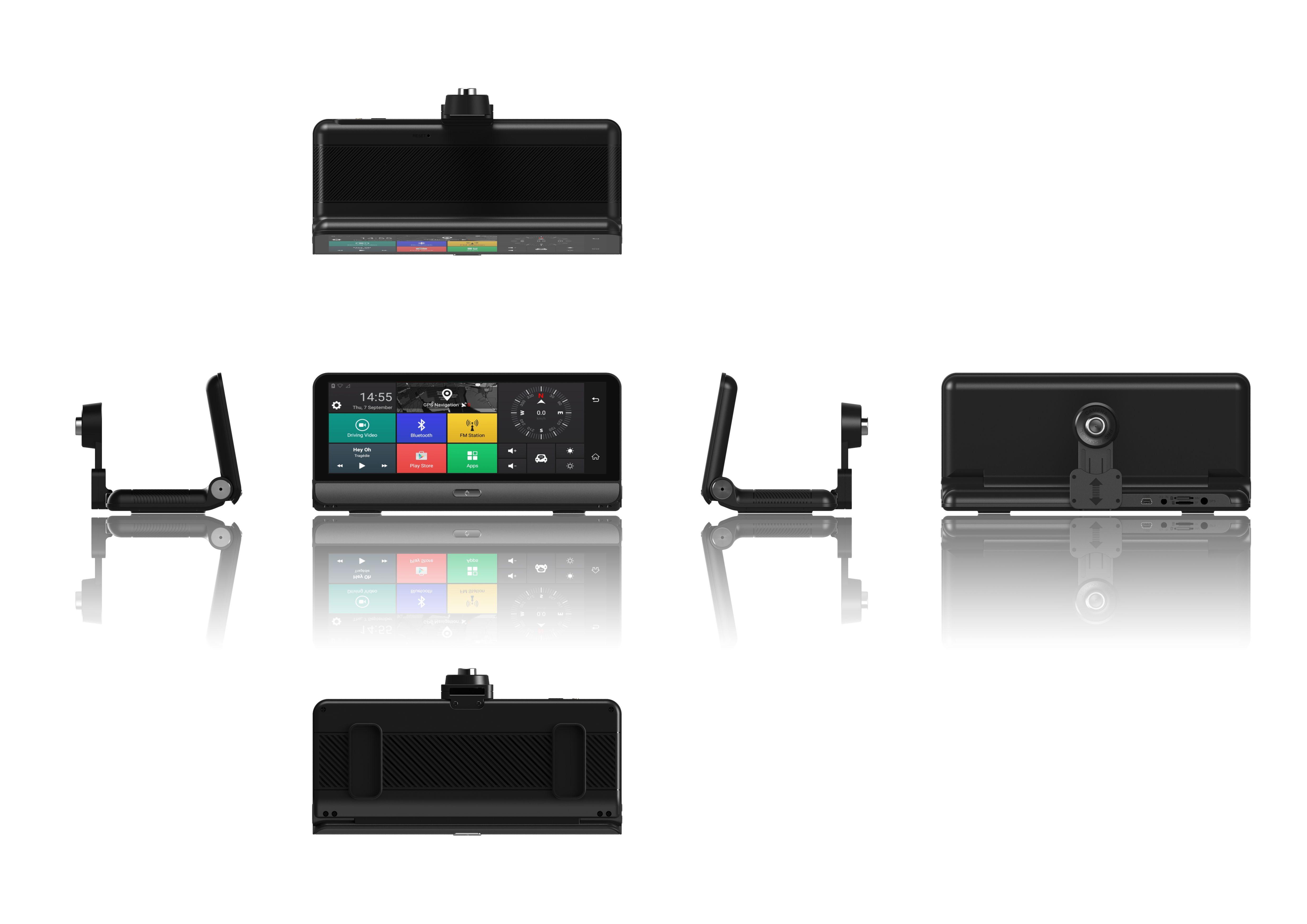 Navigator pentru bord Star E09 DVR 4G, Android 5.0, GPS, 8 inch, 1GB RAM 16GB ROM, Wifi, Bluetooth, Camera fata spate7