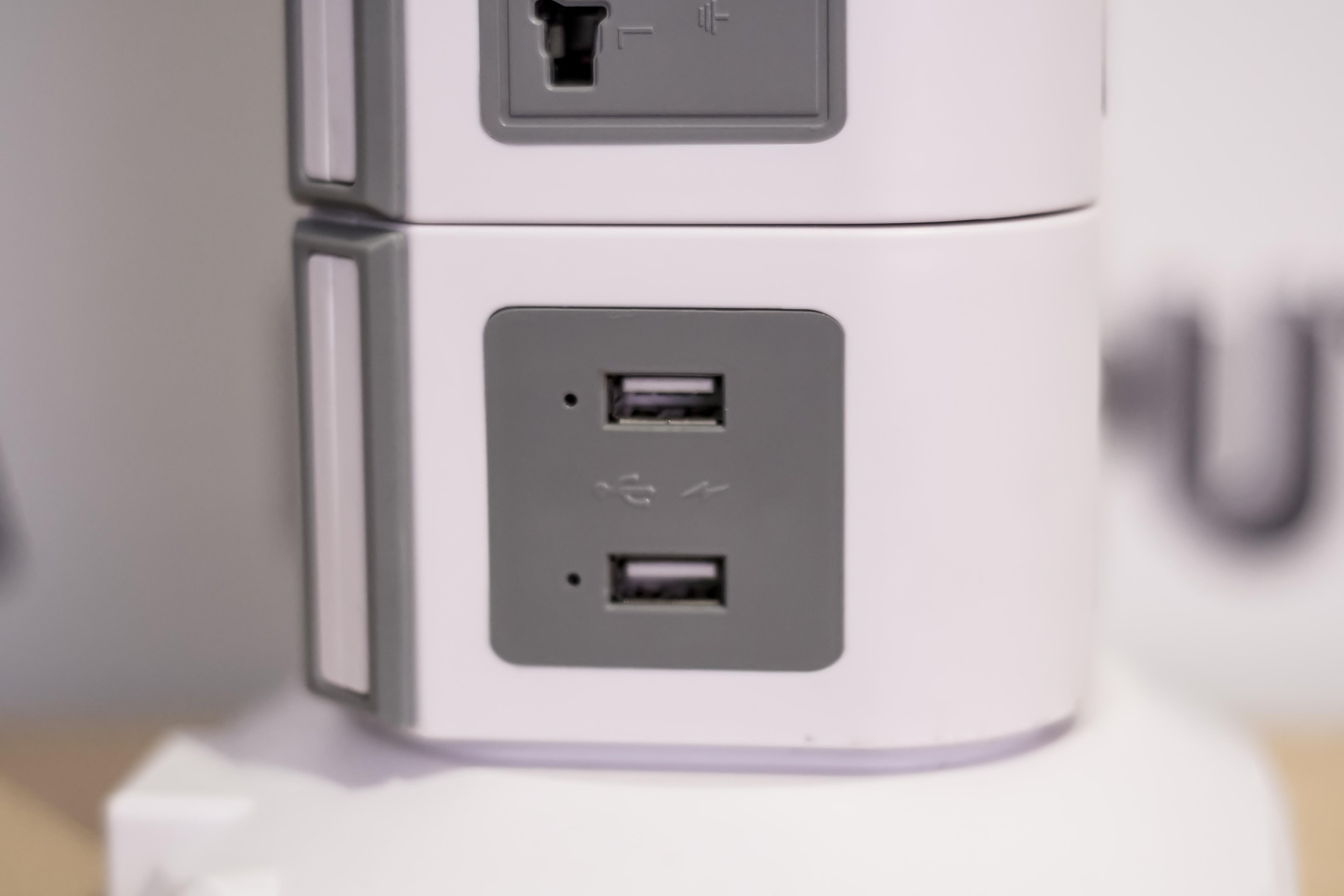 Priza verticala securizata 19 porturi universale + 2 USB3