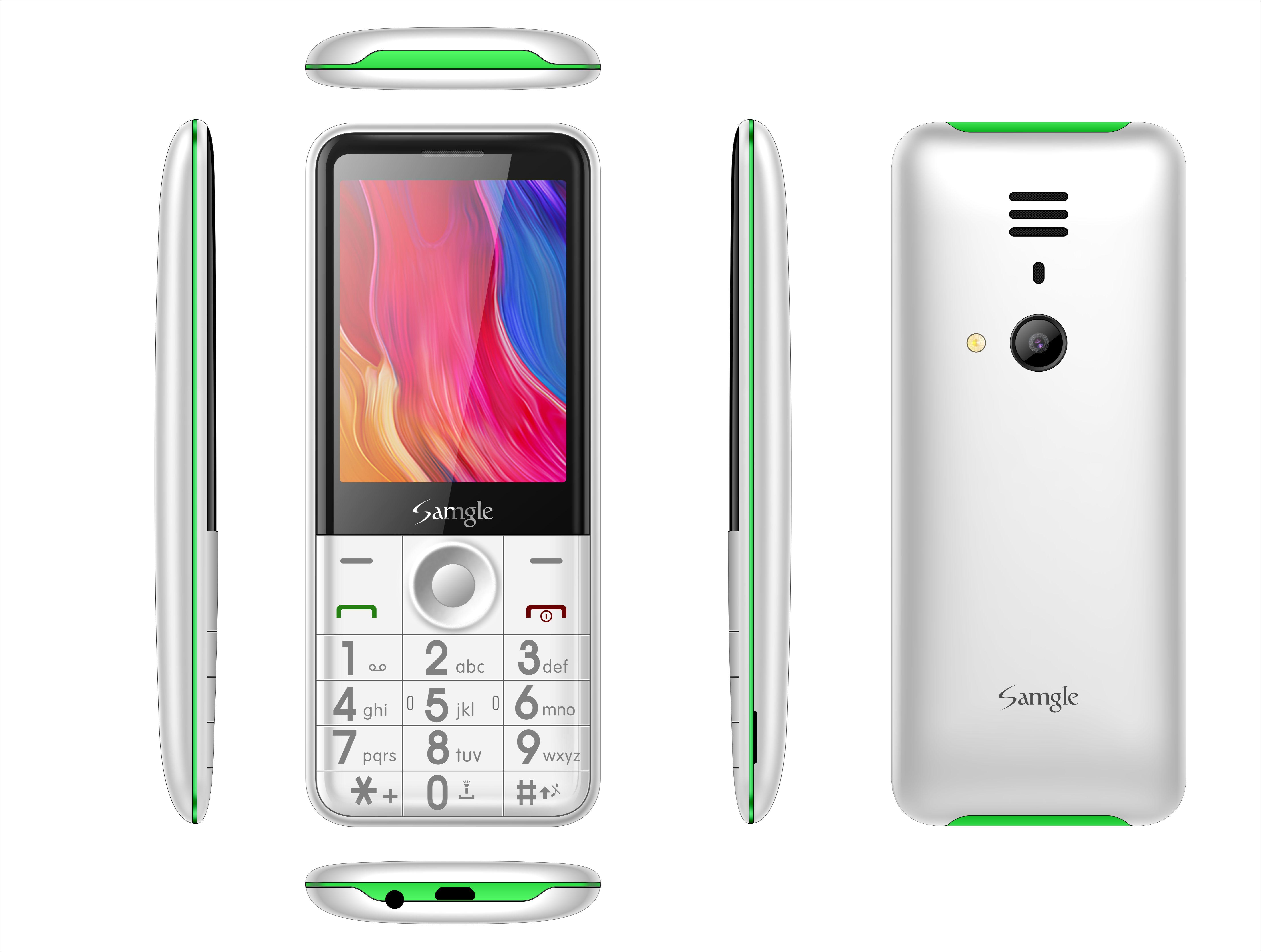 Telefon mobil Samgle Flash 3G, Ecran 2.8 inch, Bluetooth, Digi 3G, Camera, Slot Card, Radio FM, Internet, DualSim3