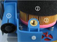 Filtrarea aerului in trei etape distincte