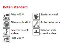 Energy 220 WTD - dotări standard