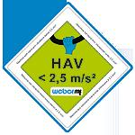 CR 5 Hd - Nivel vibratii transmise catre operator