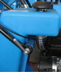 SM 82-3 - priză de aer și rezervor apa
