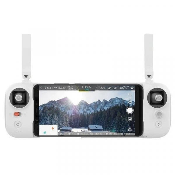Set drona Xiaomi FIMI X8 SE 2020 cu 2 baterii, Camera 4K, 12MP Sony CMOS, Gimbal pe 3 axe, GPS, 35 min timp zbor, 2x 4500mAh, Alb 5
