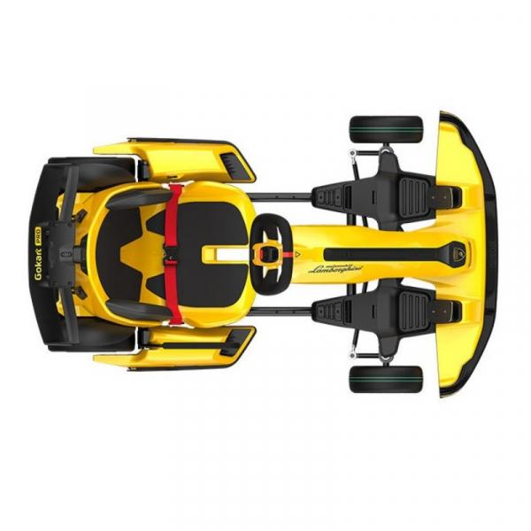 Xiaomi Ninebot GoKart Pro Lamborghini Edition, 40km/h, 96Nm, Autonomie 25km, Boxe incorporate, Bluetooth, Baterie 432Wh Quad-Airduct, Galben 4