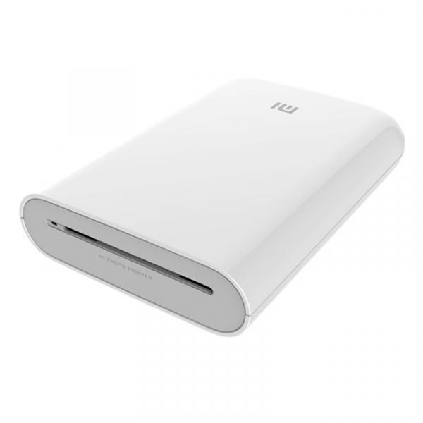 "Imprimanta foto termica portabila Xiaomi Pocket Photo Printer, Hartie sticker de 3"", AR Foto,Conexiune multipla, Bluetooth v5.0, Alb 0"