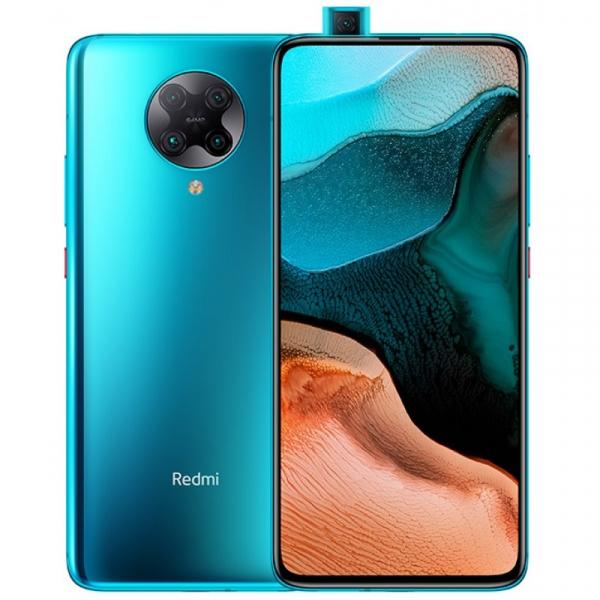Telefon mobil Xiaomi Redmi K30 Pro, 5G, AMOLED 6.67inch, 6GB RAM, 128GB ROM, Android 10, Snapdragon865 OctaCore, Dual SIM, 4700mAh, Albastru 0