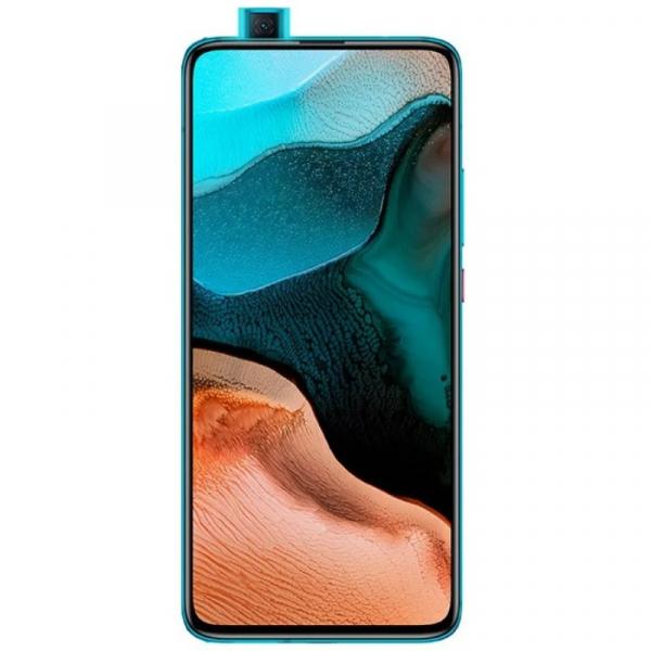 Telefon mobil Xiaomi Redmi K30 Pro, 5G, AMOLED 6.67inch, 6GB RAM, 128GB ROM, Android 10, Snapdragon865 OctaCore, Dual SIM, 4700mAh, Albastru 1