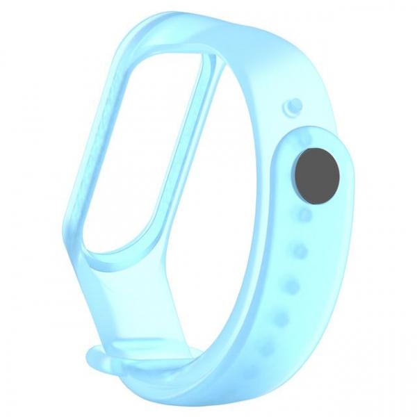 Bratara de schimb din TPE translucid de inalta calitate pentru Xiaomi Mi band 4 , usor de utilizat, confortabile si rezistente [2]