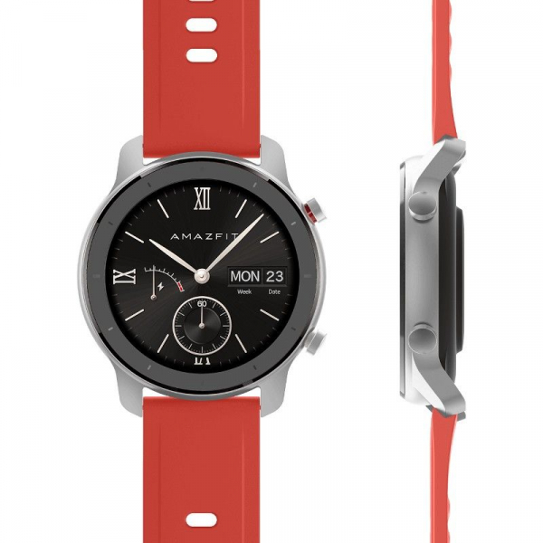 Ceas inteligent Xiaomi Huami Amazfit GTR, 1.2 inch, 42 mm, Amoled, GPS, 5ATM Waterproof, Bluetooth 5.0, 195 mAh, Global 4