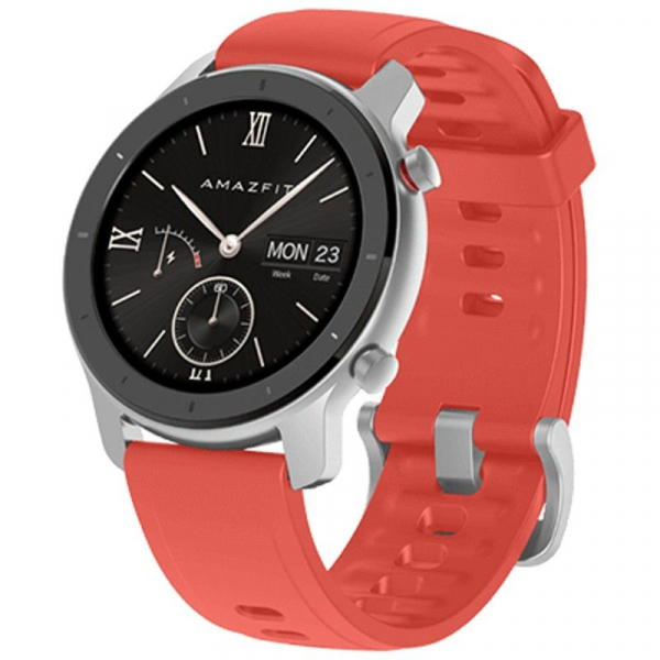 Ceas inteligent Xiaomi Huami Amazfit GTR, 1.2 inch, 42 mm, Amoled, GPS, 5ATM Waterproof, Bluetooth 5.0, 195 mAh, Global 3