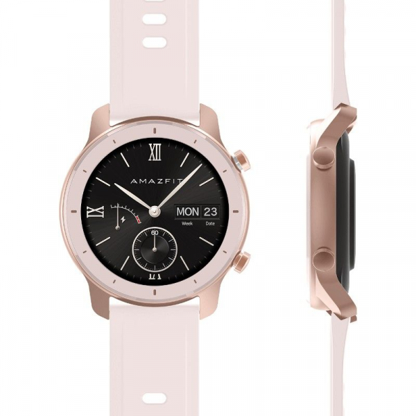 Ceas inteligent Xiaomi Huami Amazfit GTR, 1.2 inch, 42 mm, Amoled, GPS, 5ATM Waterproof, Bluetooth 5.0, 195 mAh, Global 8
