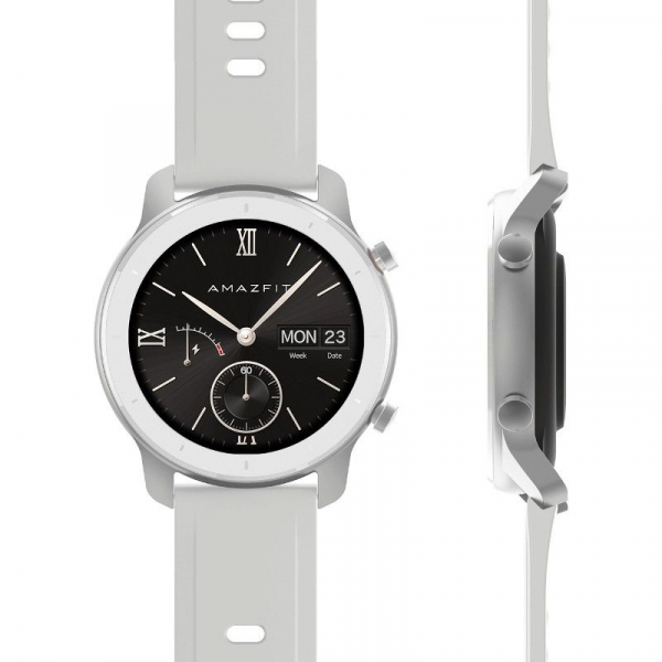 Ceas inteligent Xiaomi Huami Amazfit GTR, 1.2 inch, 42 mm, Amoled, GPS, 5ATM Waterproof, Bluetooth 5.0, 195 mAh, Global 6