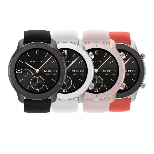 Ceas inteligent Xiaomi Huami Amazfit GTR, 1.2 inch, 42 mm, Amoled, GPS, 5ATM Waterproof, Bluetooth 5.0, 195 mAh, Global 0