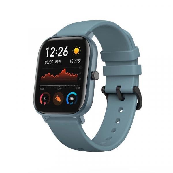 Ceas inteligent Xiaomi Huami Amazfit GTS, GPS, Bluetooth, IP69, 1.65 inch AMOLED 2.5D, Giroscop, 220mAh 1