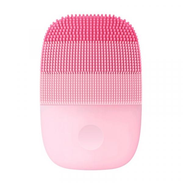 Perie electrica de masaj si curatare faciala Xiaomi inFace Sonic MS2000-1 Roz, 3 zone de curatare, 3 trepte de viteza, IPX7 0