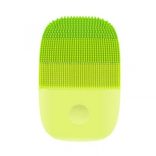 Perie electrica de masaj si curatare faciala Xiaomi inFace Sonic MS2000-1 Verde, 3 zone de curatare, 3 trepte de viteza, IPX7 0