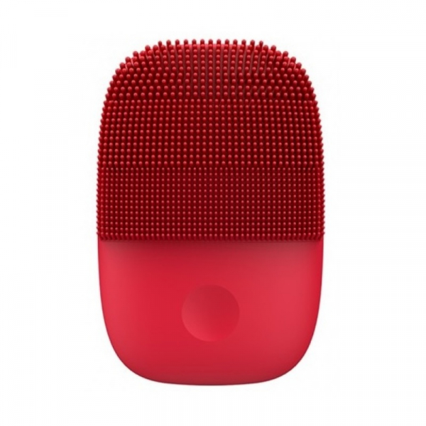 Perie electrica de masaj si curatare faciala Xiaomi inFace Sonic MS2000-5 Rosu, 3 zone de curatare, 5 trepte de viteza, IPX7 0