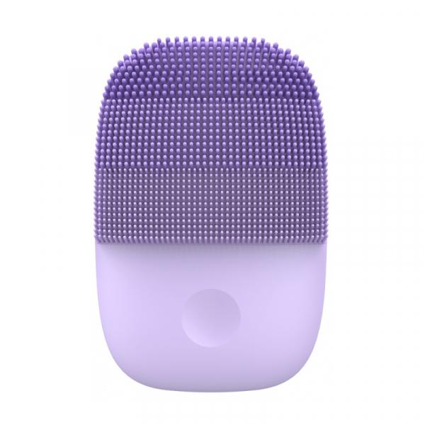 Perie electrica de masaj si curatare faciala Xiaomi inFace Sonic MS2000-5 Mov, 3 zone de curatare, 5 trepte de viteza, IPX7 0