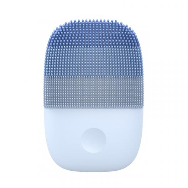 Perie electrica de masaj si curatare faciala Xiaomi inFace Sonic MS2000-5 Albastru, 3 zone de curatare, 5 trepte de viteza, IPX7 0
