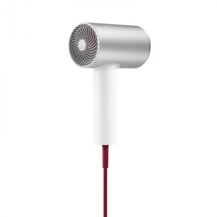 Uscator de par Xiaomi Soocas H5 Silver, 1800W, 20000rpm, Anionic, Aliaj aluminiu, Izolare a duzei de aer 3