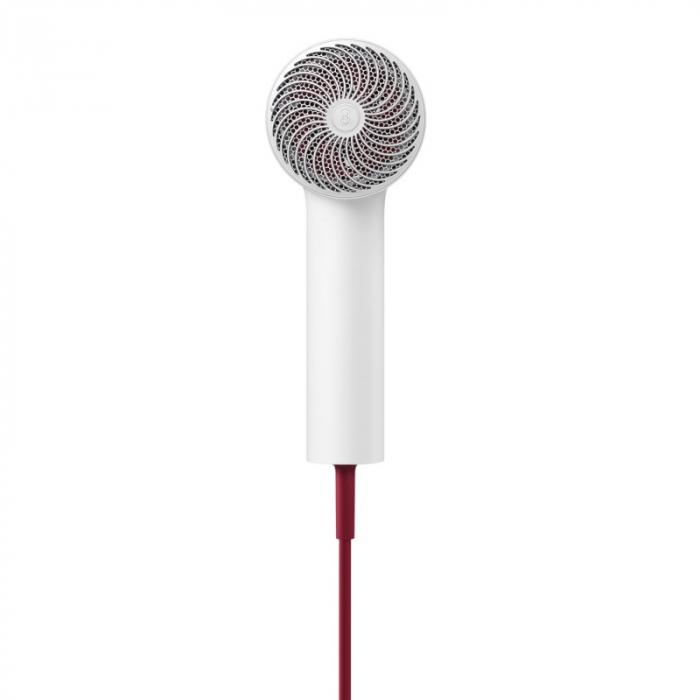 Uscator de par Xiaomi Soocas H5 Silver, 1800W, 20000rpm, Anionic, Aliaj aluminiu, Izolare a duzei de aer 4