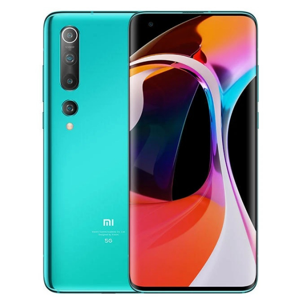 Telefon mobil Xiaomi Mi 10, 5G, 8K, AMOLED 6.67inch, 8GB RAM, 256GB ROM, Snapdragon 865, 4780mAh, Verde 0