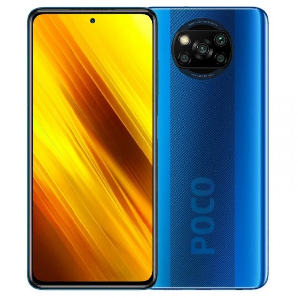 Telefon mobil Xiaomi POCO X3 NFC 6/128 EU Albastru 0