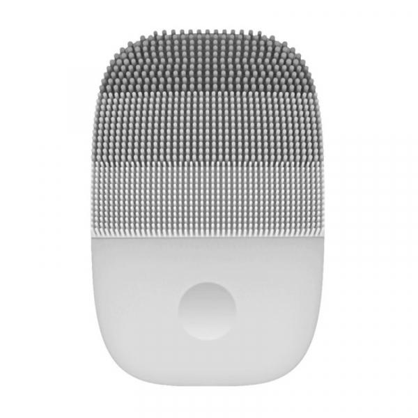 Perie electrica de masaj si curatare faciala Xiaomi inFace Sonic MS2000-1 Gri, 3 zone de curatare, 3 trepte de viteza, IPX7 0