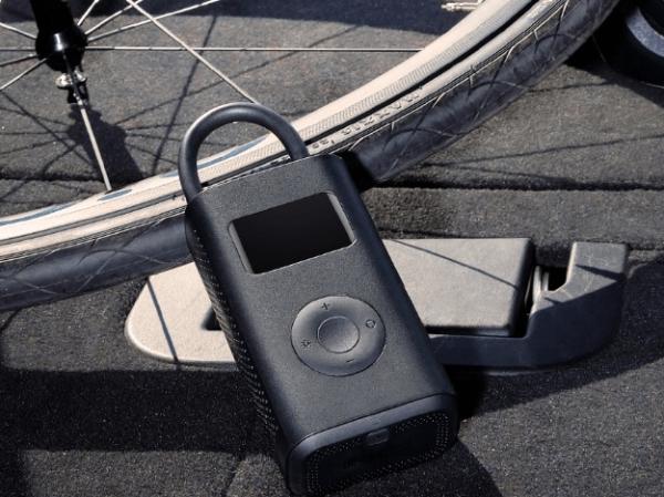 Xiaomi Mi Portable Air Pump, 2000 mAh, Monitorizare digitala a presiunii, Auto-oprire, 150psi, Micro-USB [6]