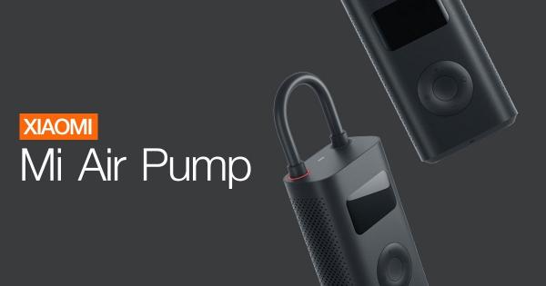 Xiaomi Mi Portable Air Pump, 2000 mAh, Monitorizare digitala a presiunii, Auto-oprire, 150psi, Micro-USB [7]
