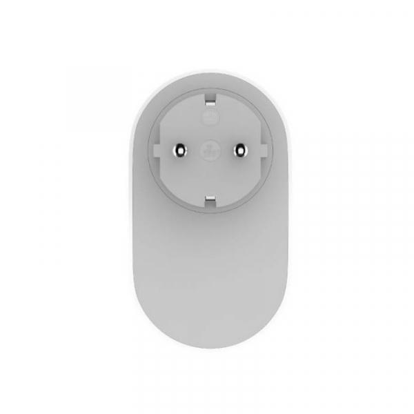 Priza WiFi smart Xiaomi Mi Smart Power Plug Alb, 16A, 3680W, Control vocal, Compatibilitate Android si iOS, Global [2]