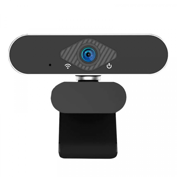 Camera Web FHD Xiaomi Xiaovv USB IP Camera cu microfon si tripod, 2MP,Unghi larg 150°,Auto focus, Recunoastere faciala, Alimentare USB 2